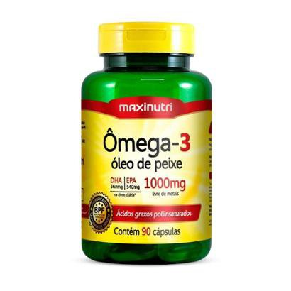Oferta Ômega 3 - 90 cápsulas - Maxinutri por R$ 27.9