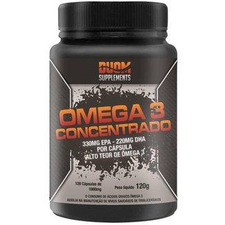 Ômega 3 Concentrado 1000Mg 120 Cápsulas Duom Supplements