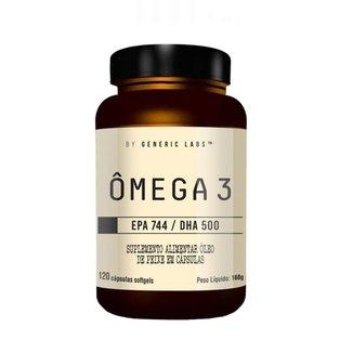 ÔMEGA 3 - EPA (120 Cápsulas) - Generic Labs