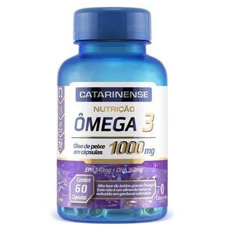Ômega 3 EPA 540mg DHA 360mg Catarinense 60 cápsulas
