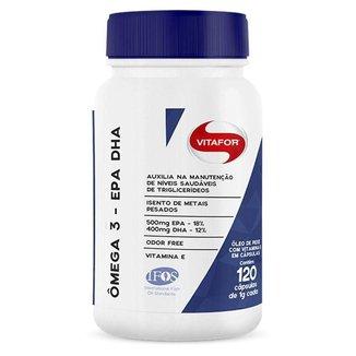 Ômega 3 EPA/DHA - 120 cápsulas - Vitafor
