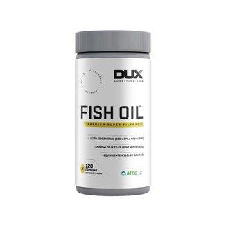 Omega 3 Fish Oil 120 Cápsulas - Dux Nutrition