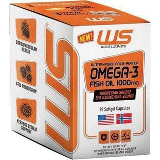 Omega 3 Size Fish Oil 1000mg - World Size
