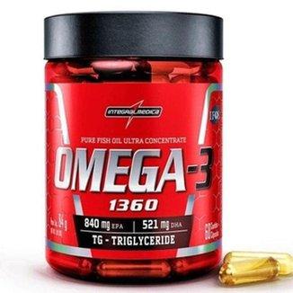 Omega 3 Ultra Concentrado   60 Cáps   IntegralMédica