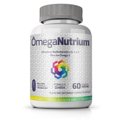 Ômega Nutrium Ekobé Óleo Peixe Multivitamínico 60 Cápsulas - Unissex