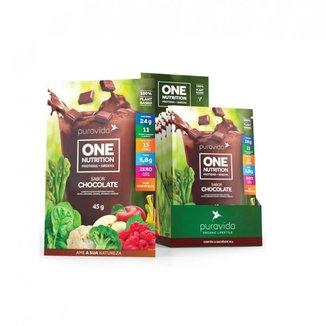 One  Nutrition (1 Sachê de 45g cada) - Pura Vida
