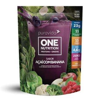 One Vegan Nutriton (Proteína + Greens) 450g - Pura Vida