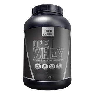 One Whey Protein 900G - Morango - Dark Lab