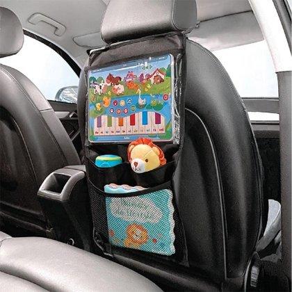 Organizador para Carro com Case para Tablet Buba