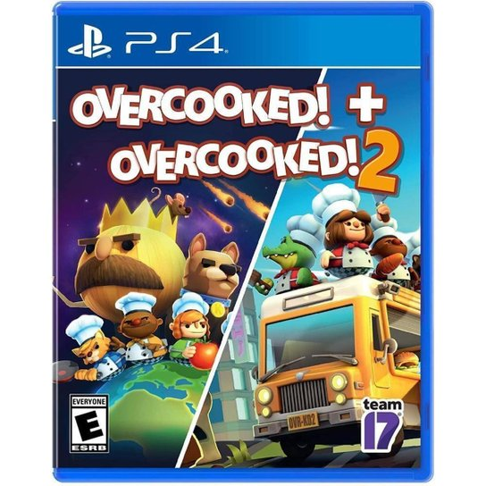 Overcooked & Overcooked 2 - Ps4 - Incolor
