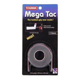 Overgrip Tourna Mega Tac Preto Com 03 Overgrips - Unique
