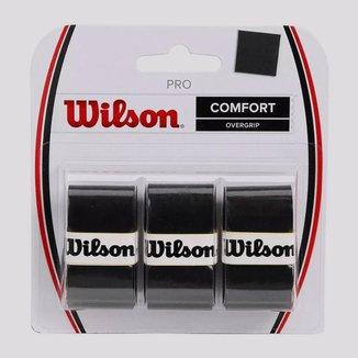 Overgrip Wilson Pro 3 unidades Preto