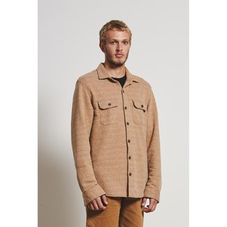 Overshirt Moleton Recycled Overshirt Masculino