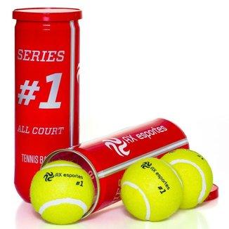 Pack c/ 40 Tubos c/3  Bolas de Tênis Premium AX Esportes