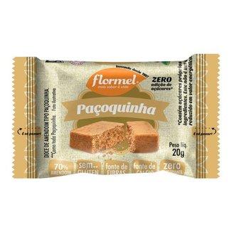Paçoca Flormel Zero Açucar 20g