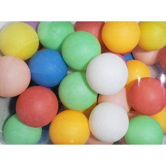 Pacote Com 6 Unidades De Bolas / Bolinhas De Ping Pong 38mm