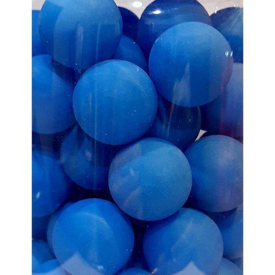 Pacote Com 6 Unidades De Bolas / Bolinhas De Ping Pong 38mm - Azul