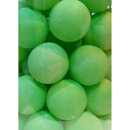 Pacote Com 6 Unidades De Bolas / Bolinhas De Ping Pong 38mm - Verde