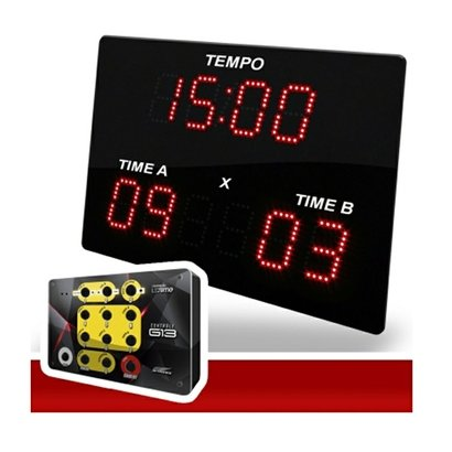 Painel Poliesportivo Led Time Kit Sports X2 - Unissex