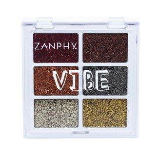 Paleta de Glitter Zanphy Vibe 03