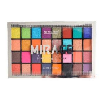 Paleta de Sombras Beautiful Mirage Inspiring Colors SP Colors Único