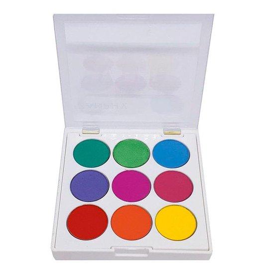 Paleta de Sombras Zanphy Vibe Neon 03 - Incolor