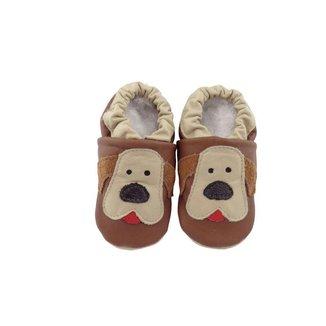 Pantufa Catz Calçados Infantil Couro Nicky Cachorro