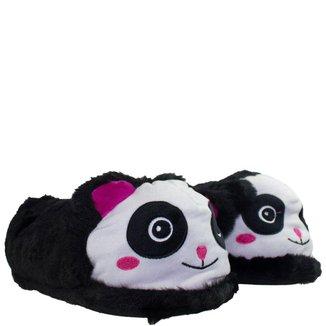 Pantufa Feminina Zona Criativa Panda
