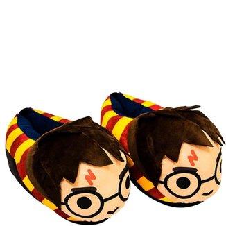 Pantufa Infantil Masculino Zona Criativa Harry Potter