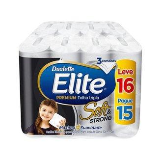 Papel Higiênico Folha Tripla Elite Soft & Strong