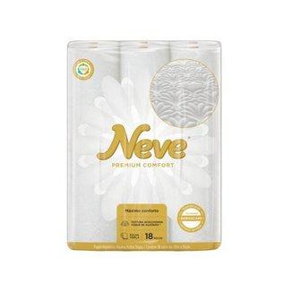 Papel Higiênico Folha Tripla Neve Premium Comfort