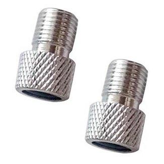 Par Adaptador de Válvula Tsw Presta para Schrader Alumínio