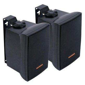 Par Caixa de Som Acústica JBL  Passiva 100 Watts RMS