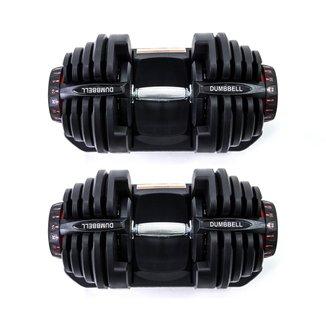 Par de dumbbell ajustável de 40kg WCT Fitness