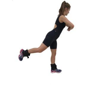 Par pesos de tornozelo e pulso 2;5kg Wct Fitness