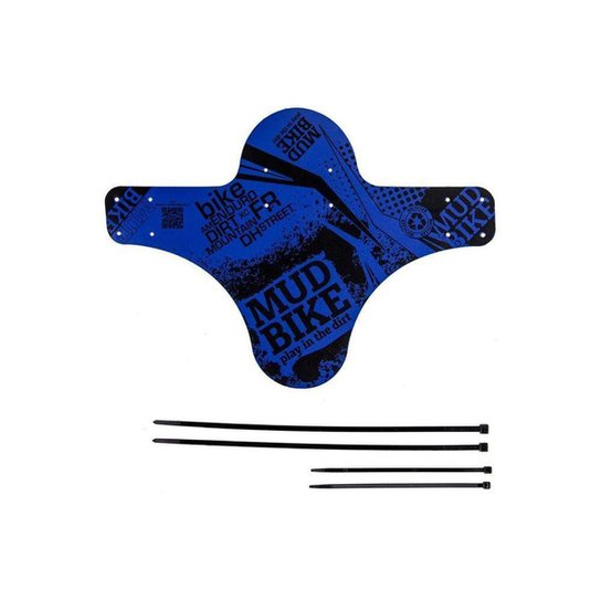 Paralama Dianteiro Mud BIke - Azul