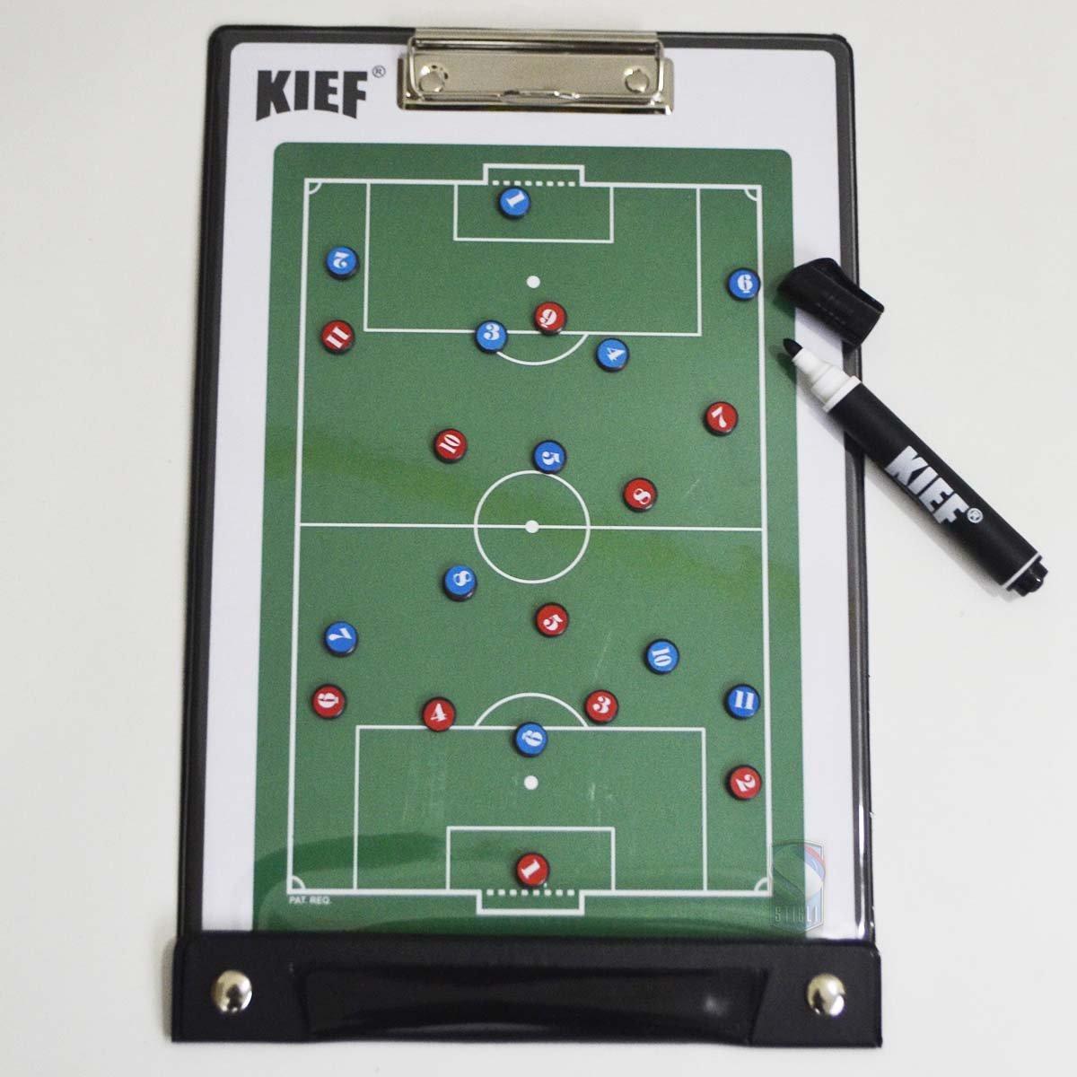 Pasta C  Prancheta Tática Magnética Futebol Kief - Compre Agora ... 95f796d3437a3