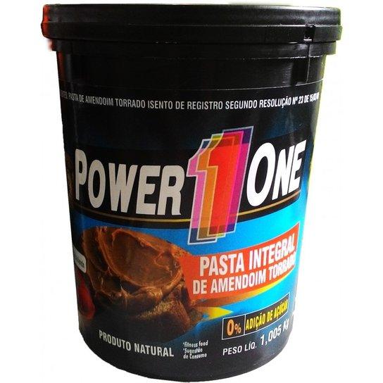 Pasta de Amendoim 1kg - Power One -