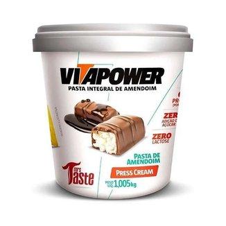 Pasta de Amendoim 1kg Press Cream Vita Power