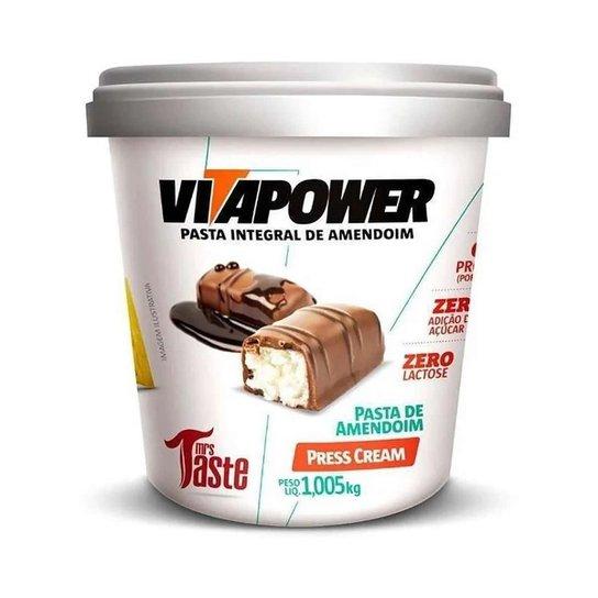 Pasta de Amendoim 1kg Press Cream Vita Power -