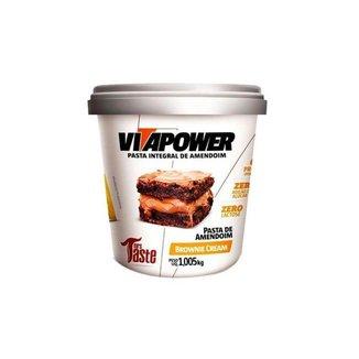 Pasta De Amendoim 1kg - Vitapower - Brownie Cream