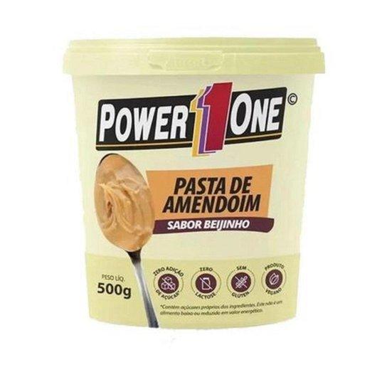 PASTA DE AMENDOIM - 500G - BEIJINHO - POWER ONE - Incolor