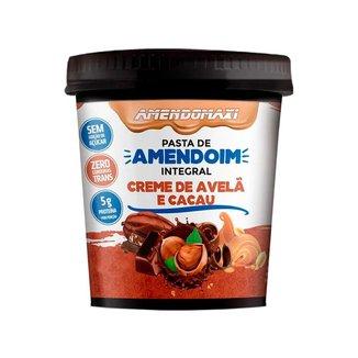 Pasta De Amendoim 500g - Creme de avelã e cacau - Amendomaxi