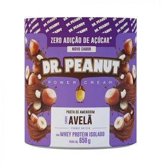 Pasta de Amendoim c/ Whey Protein Isolado (650 g) - Dr. Peanut
