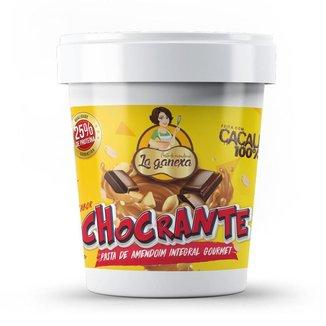 Pasta de Amendoim Chocolate Crocante  com Proteína 1kg La Ganexa