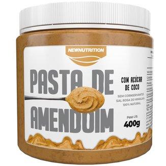 Pasta de Amendoim com Açúcar de Coco 400g NewNutrition