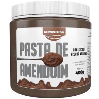 Pasta de Amendoim com Cacau e Açúcar Mascavo 400g NewNutrition