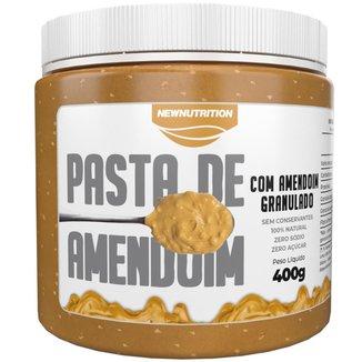 Pasta de amendoim com granulado 400g NewNutrition