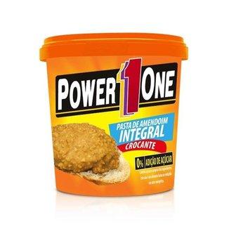 Pasta de Amendoim Crocante Power1One 1Kg