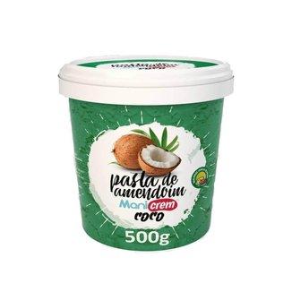 Pasta De Amendoim Integral (500G) - Manicrem